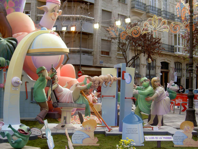 Best time for Las Fallas Festival in Valencia
