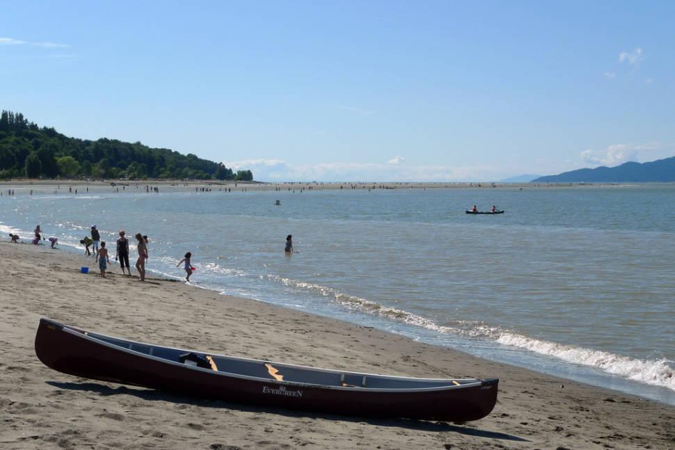 Canoe on Jericho Beach