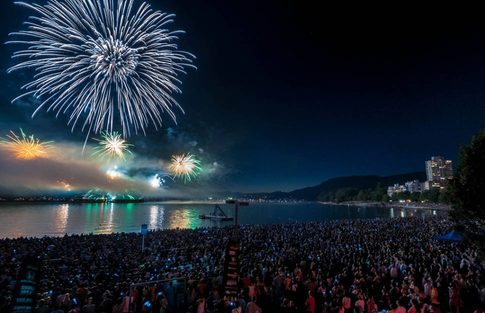 Best time to see Celebration of Light in Vancouver