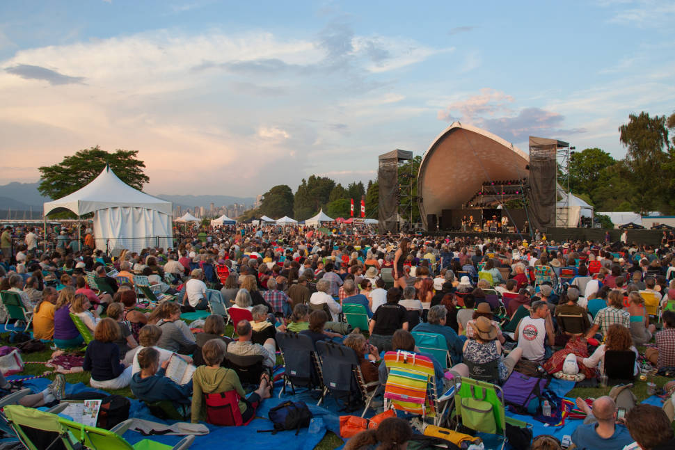 Best time for Vancouver Folk Music Festival
