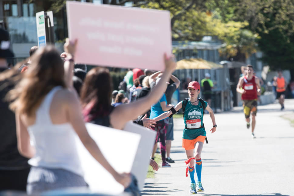 Best time for Vancouver Marathon in Vancouver