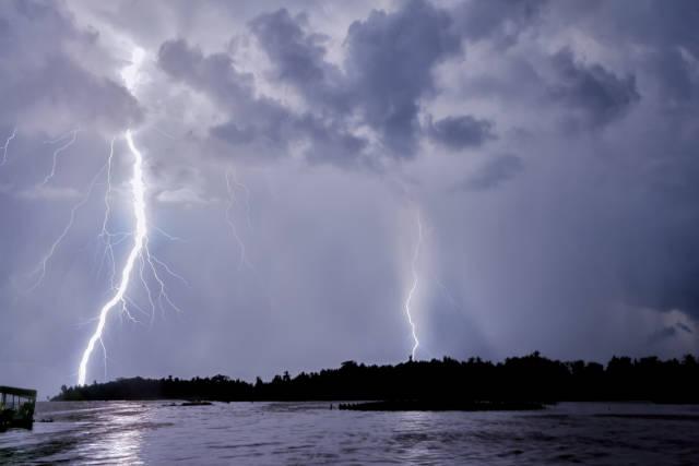 Best time for Catatumbo Lightning in Venezuela