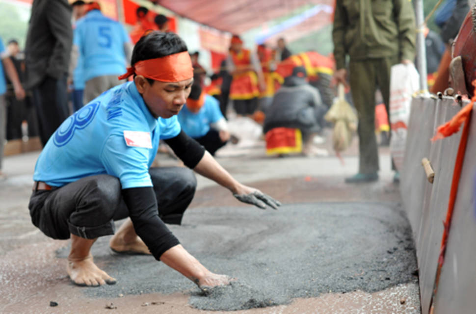 Best time to see Clay Firecracker Festival in Vietnam
