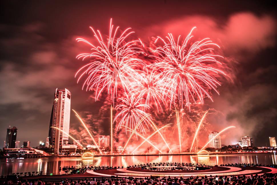 Da Nang International Fireworks Competition in Vietnam - Best Season