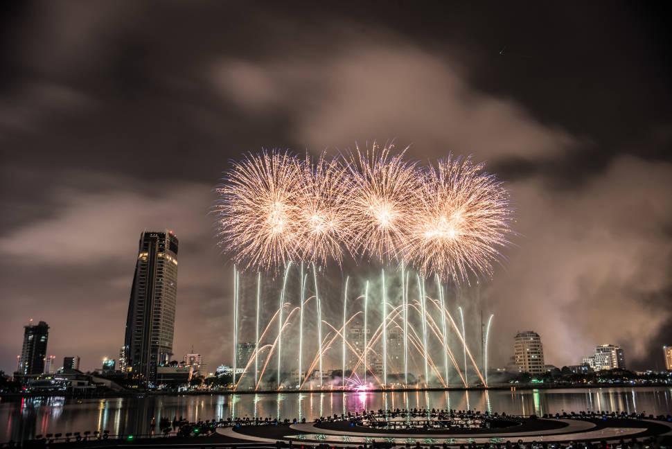 Da Nang International Fireworks Competition in Vietnam - Best Time