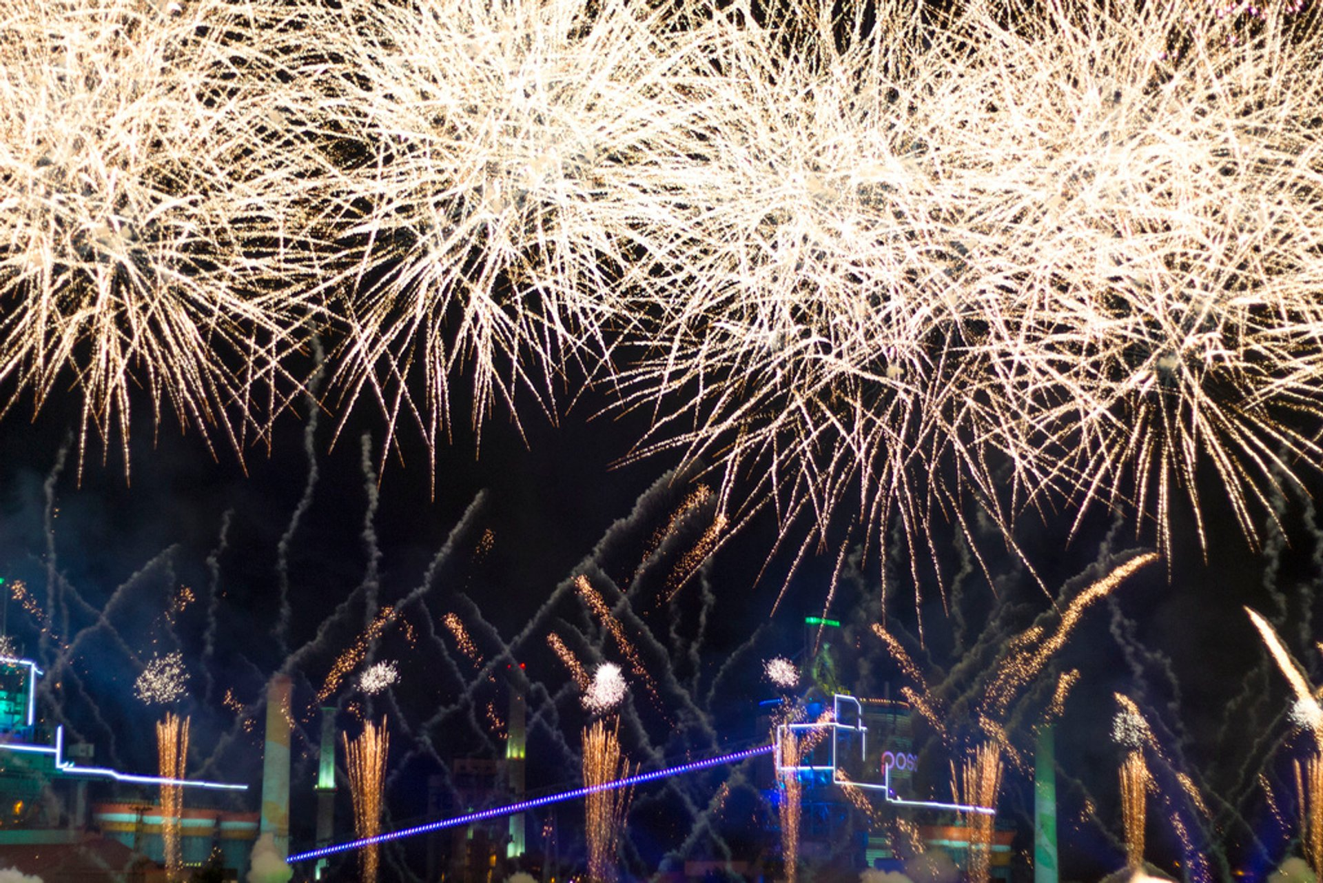 Pohang International Fireworks Festival in South Korea - Best Season 2020