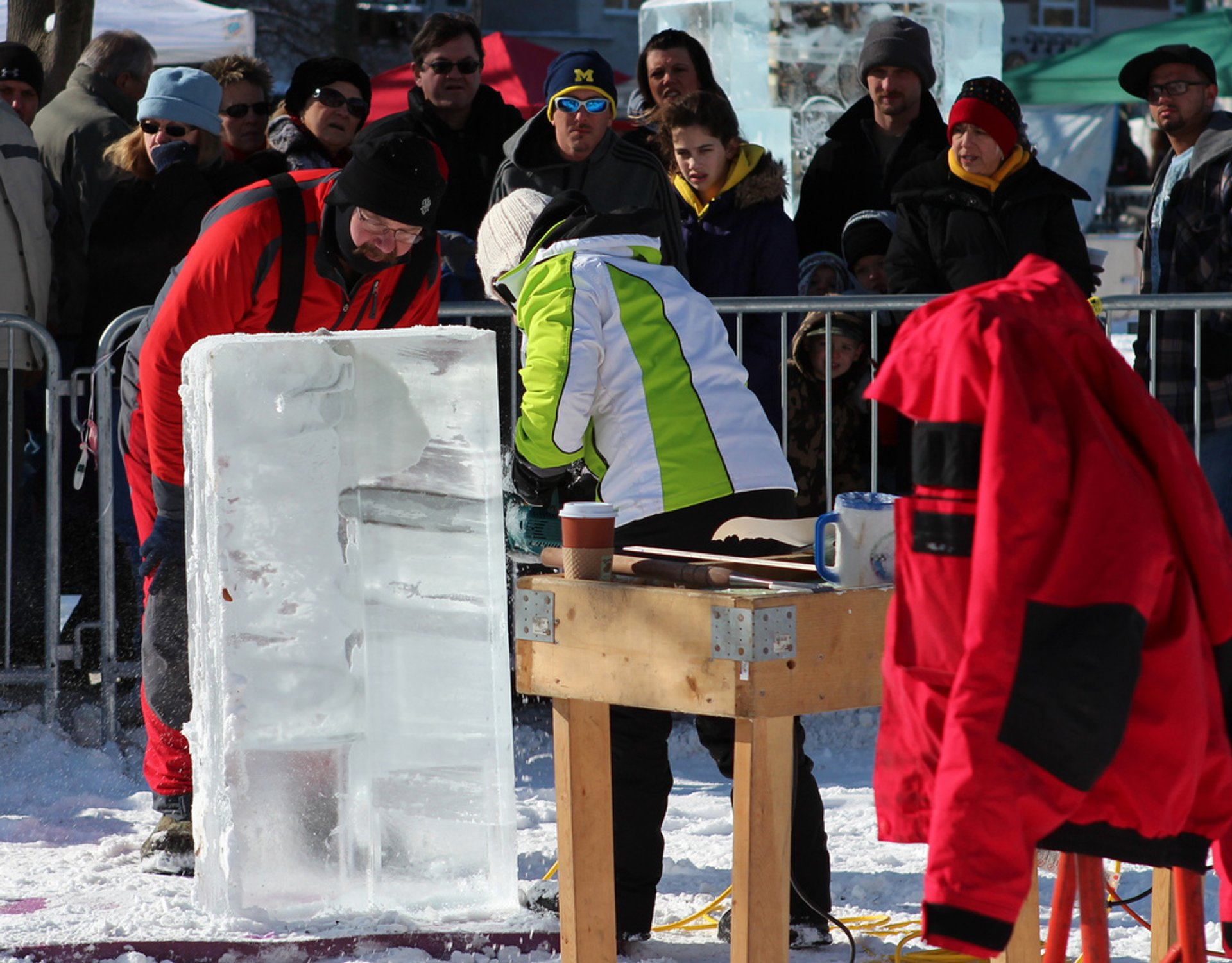 Plymouth Ice Festival in Midwest - Best Season 2020