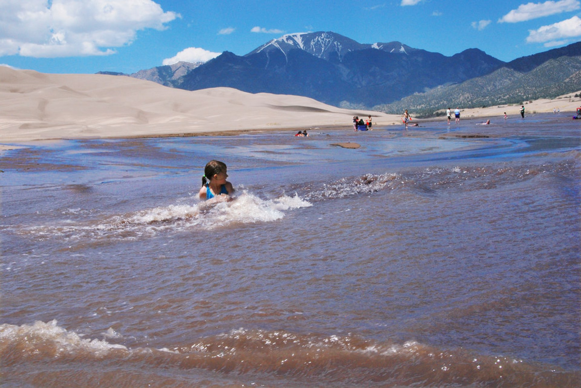 Medano Creek, Great Sand Dunes National Park and Preserve in Colorado - Best Season 2020