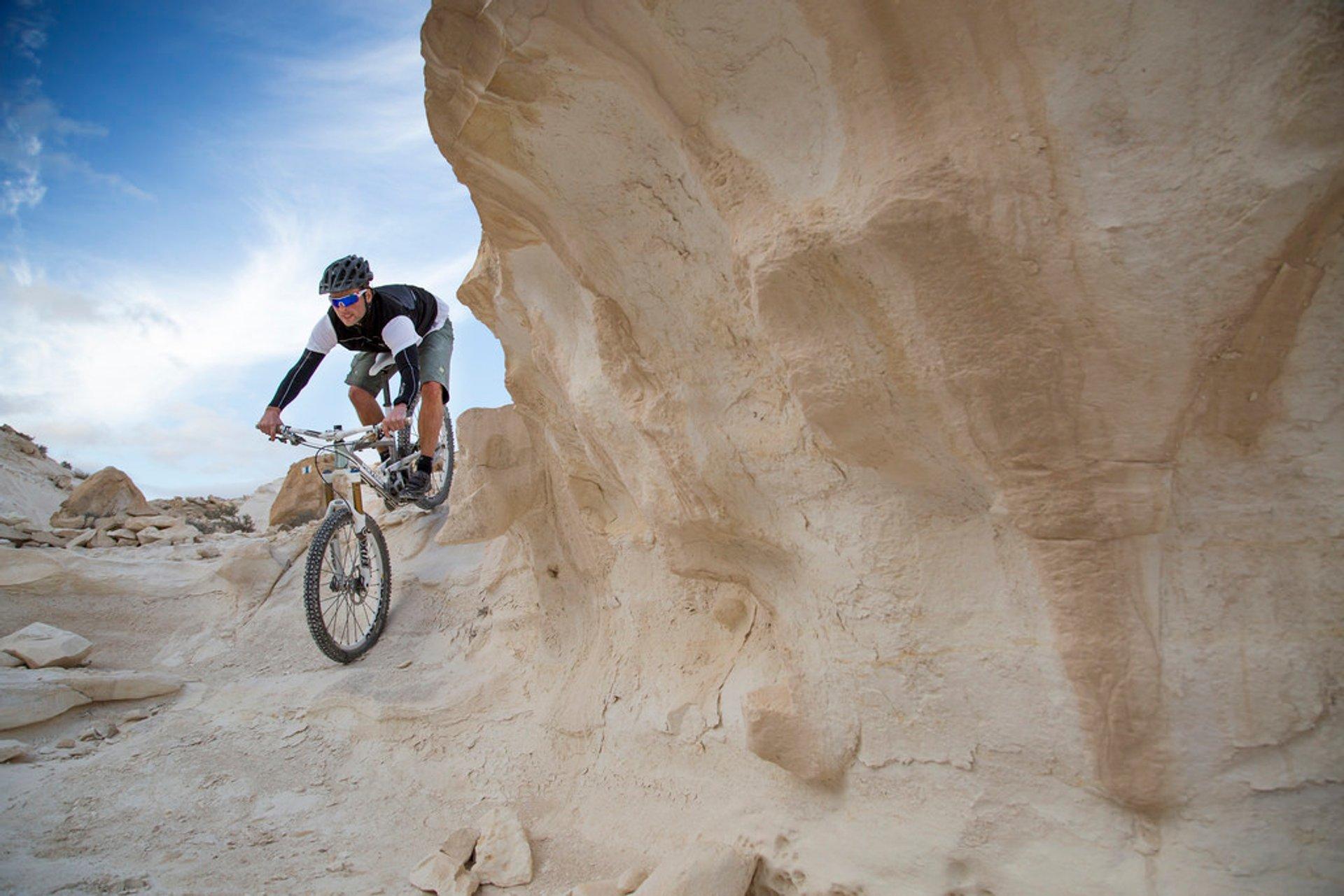 Best time for Biking the Desert in Israel 2019