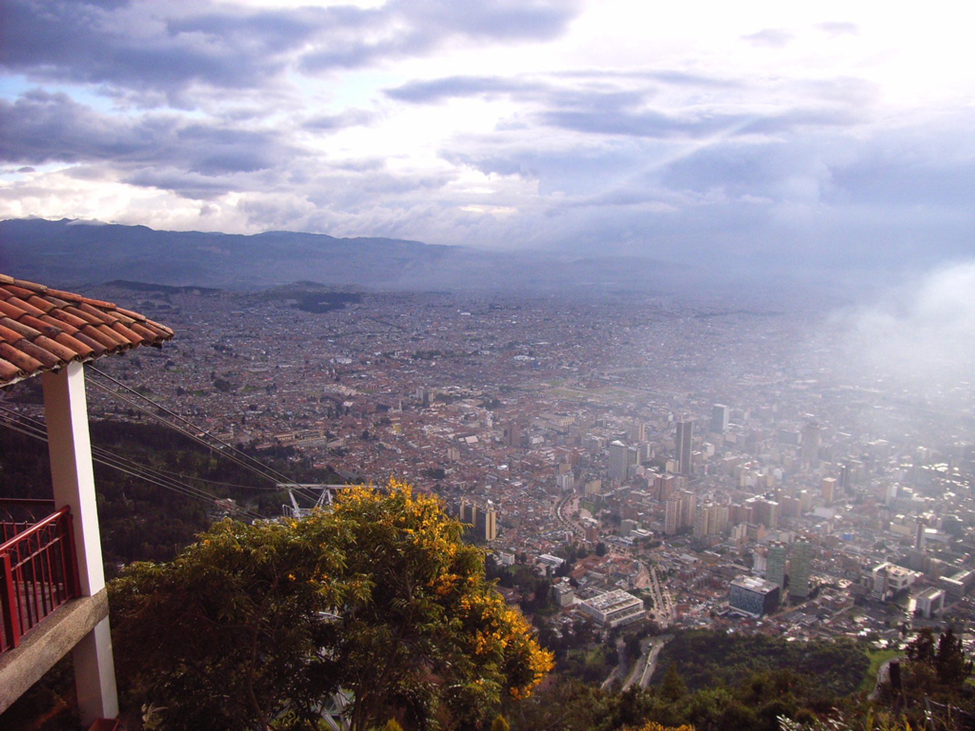 Best time for Monserrate Mountain in Colombia 2020