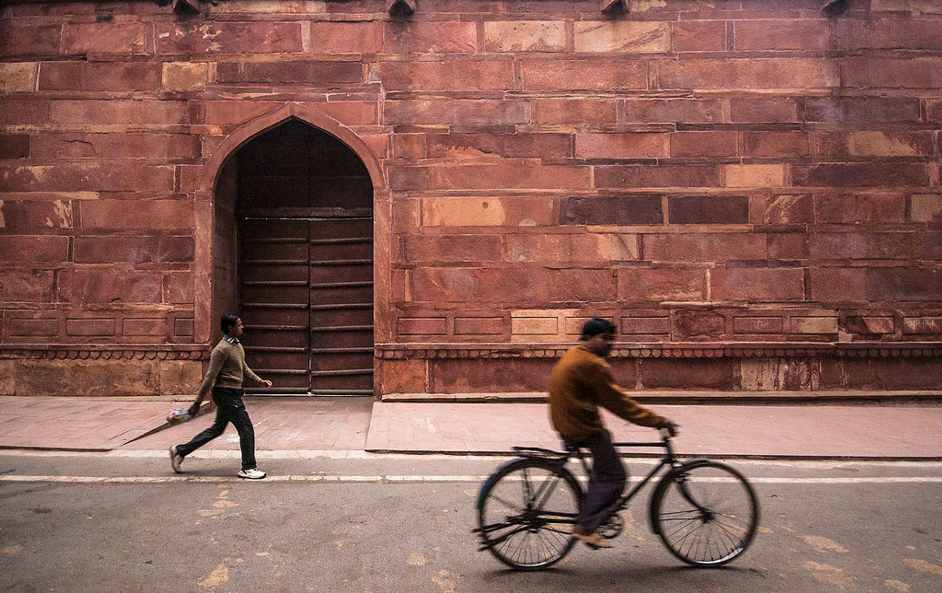 Cycling in Taj Mahal and Agra  2020 - Best Time