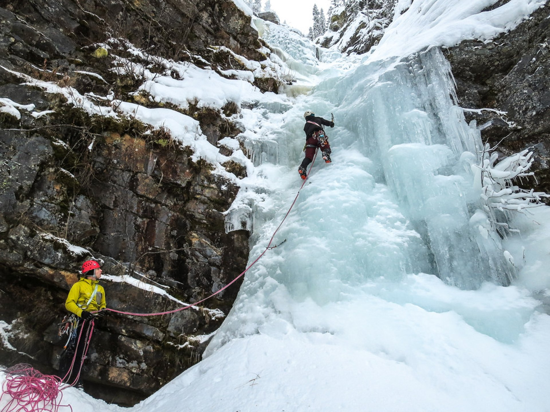 Ice Climbing in Sweden 2019 - Best Time