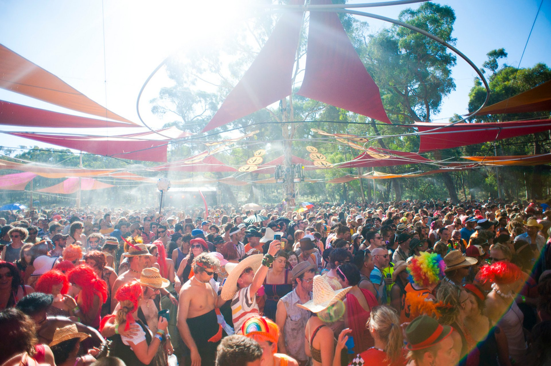 Best time for Rainbow Serpent Festival in Victoria 2019
