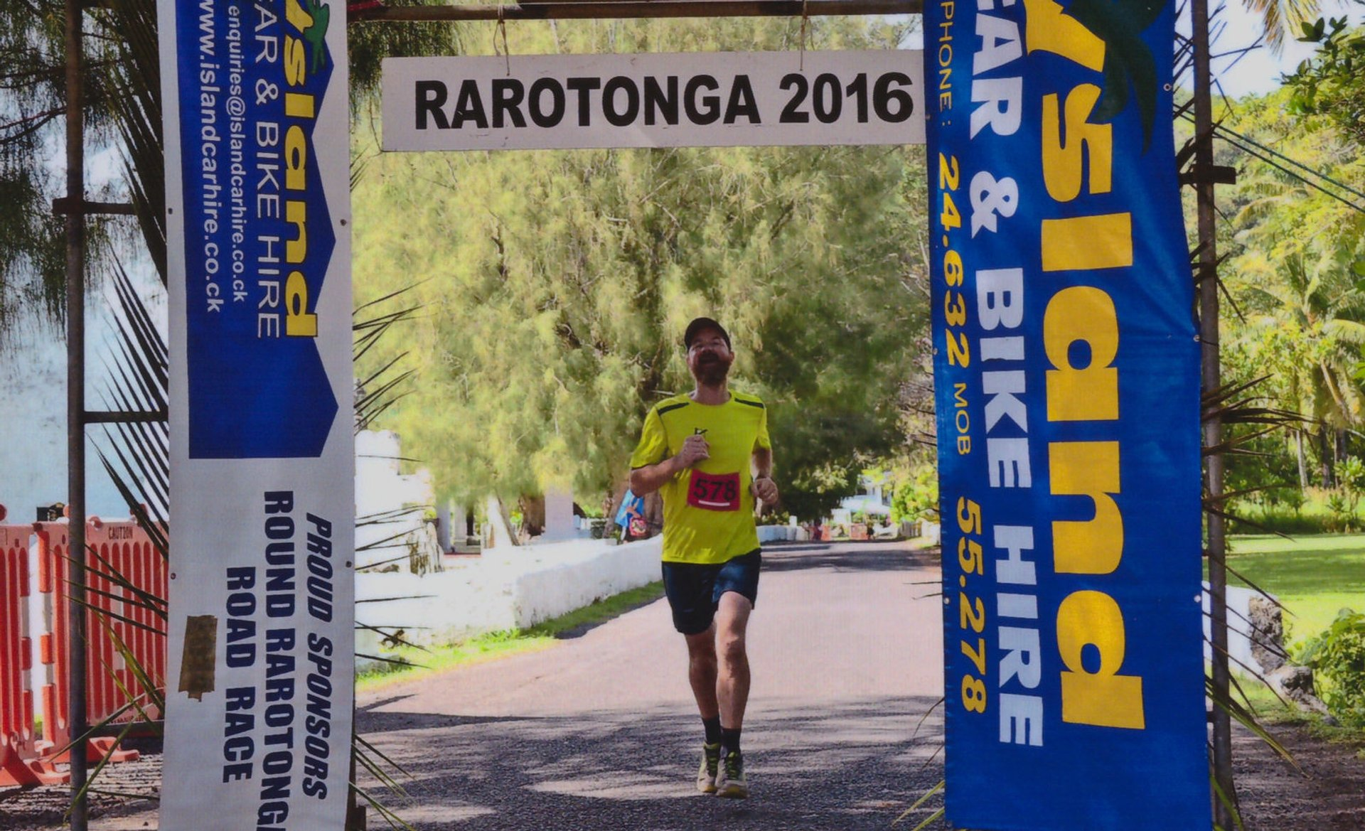 Round Rarotonga Road Race in Rarotonga & Cook Islands - Best Time