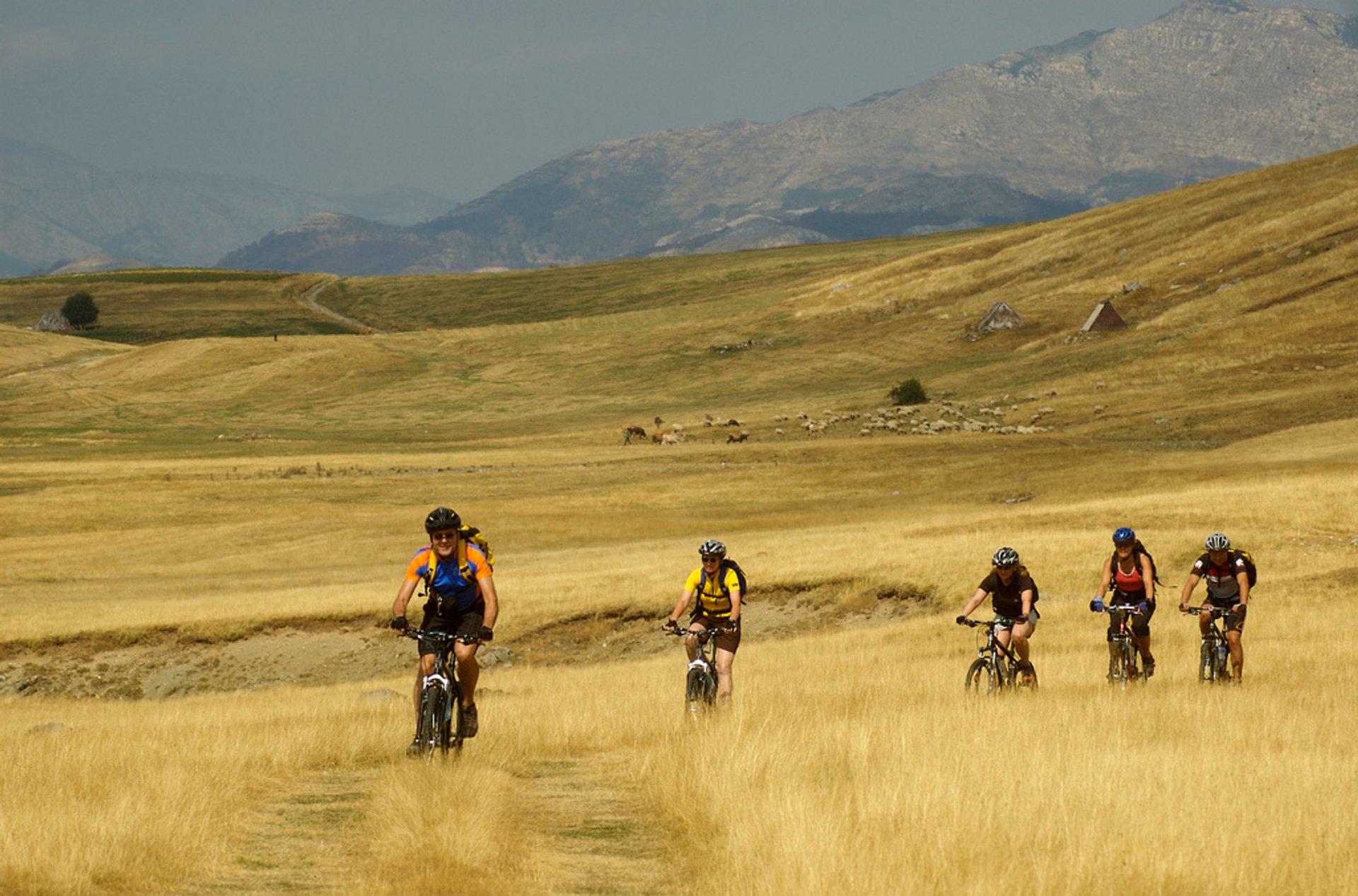 Biking in Montenegro - Best Time