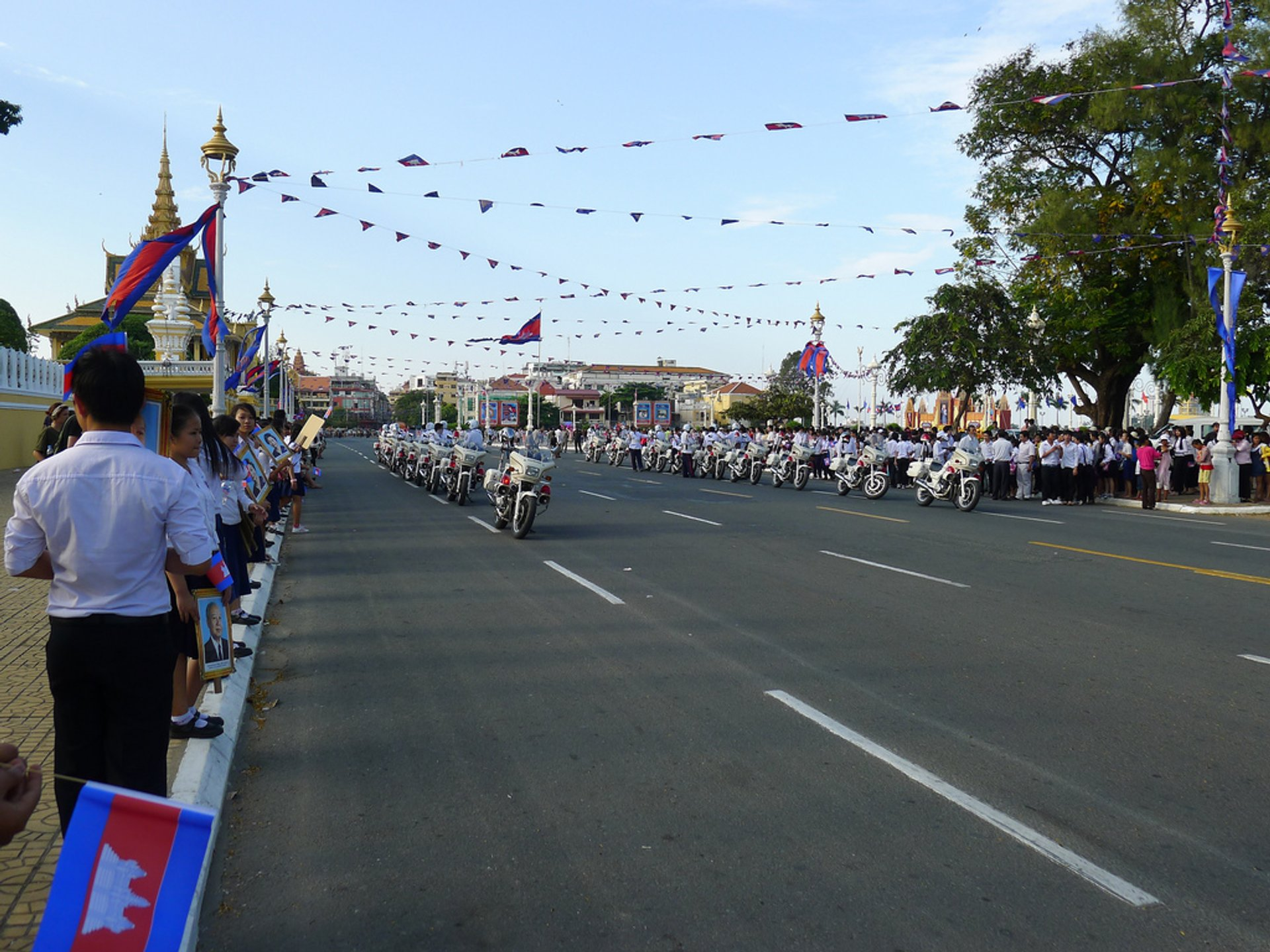 King's Birthday Celebration in Cambodia 2019 - Best Time