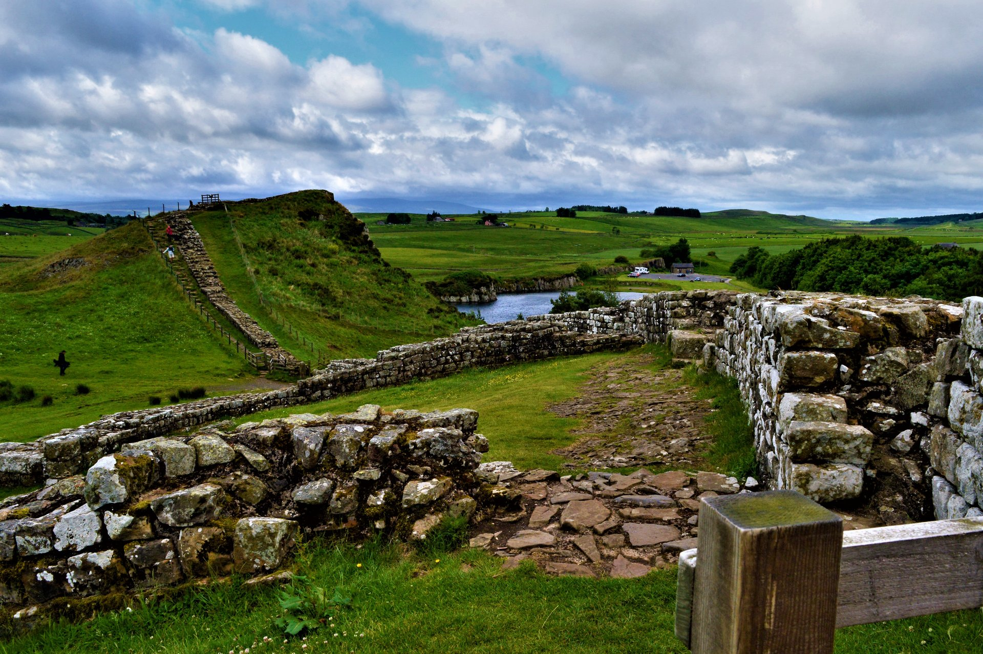 Hadrian's Wall in England - Best Season 2019