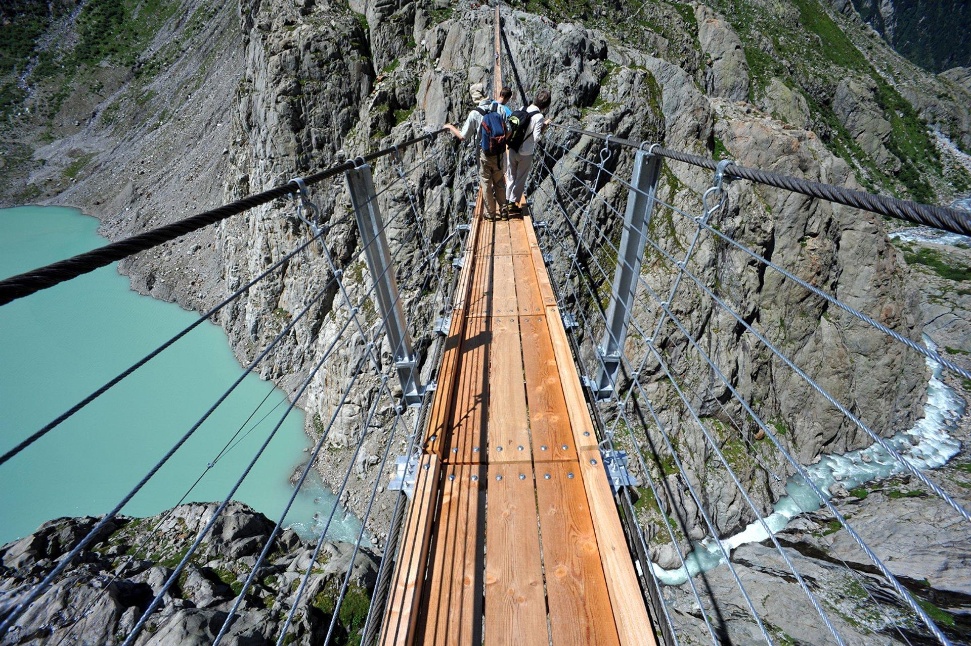 The Trift Bridge in Switzerland 2020 - Best Time