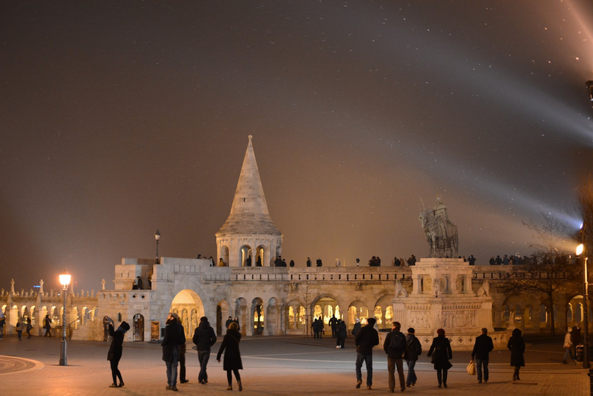 Best time for Winter Wonderland at the Fisherman's Bastion in Budapest 2020