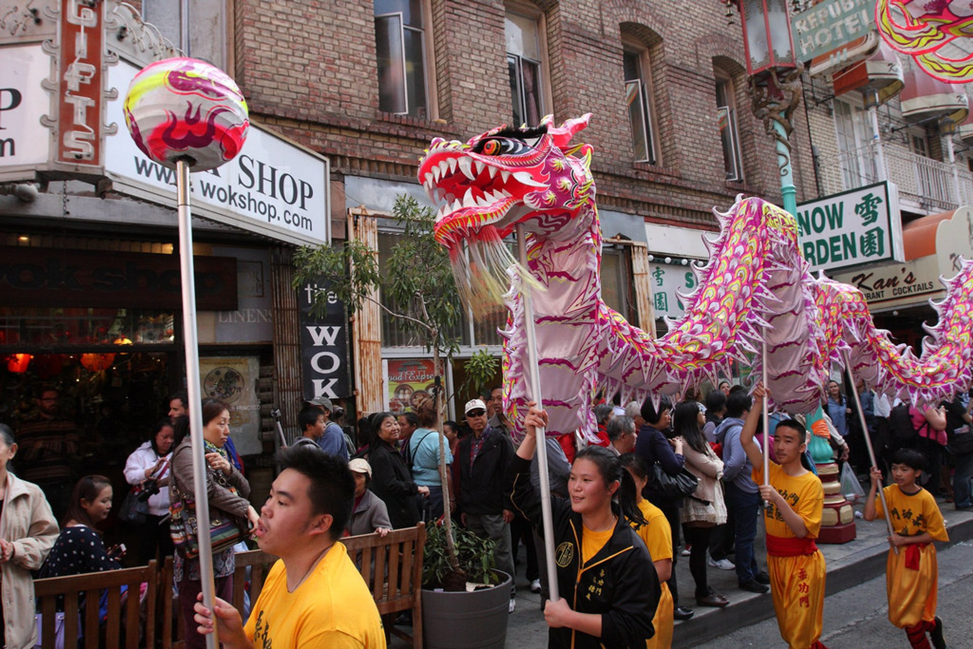 Best time for Autumn Moon Festival in San Francisco