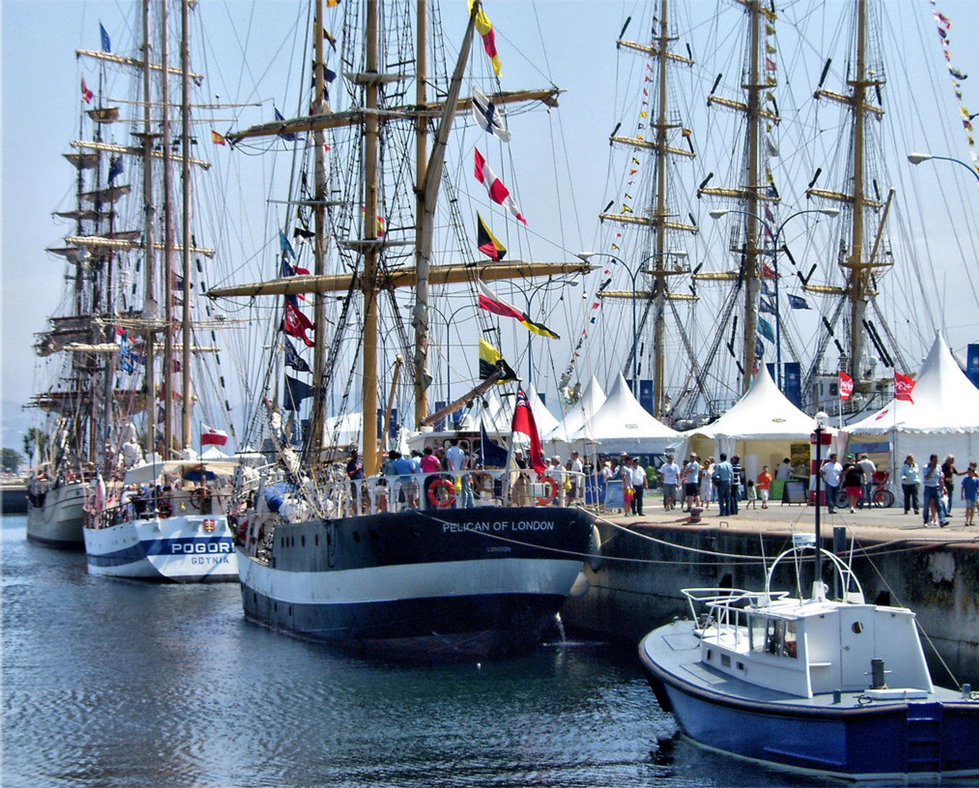 The Tall Ship Races in Portugal 2019 - Best Time