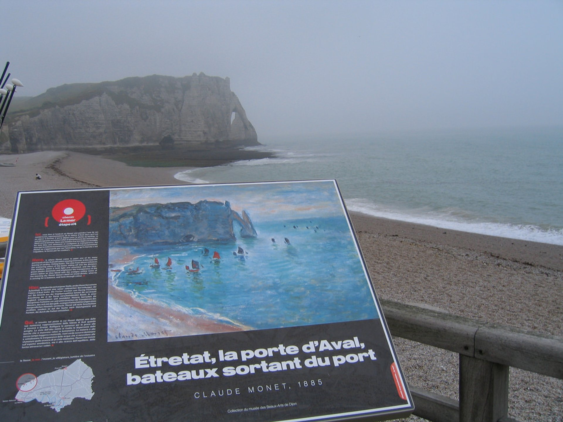 Best time for Étretat 2020