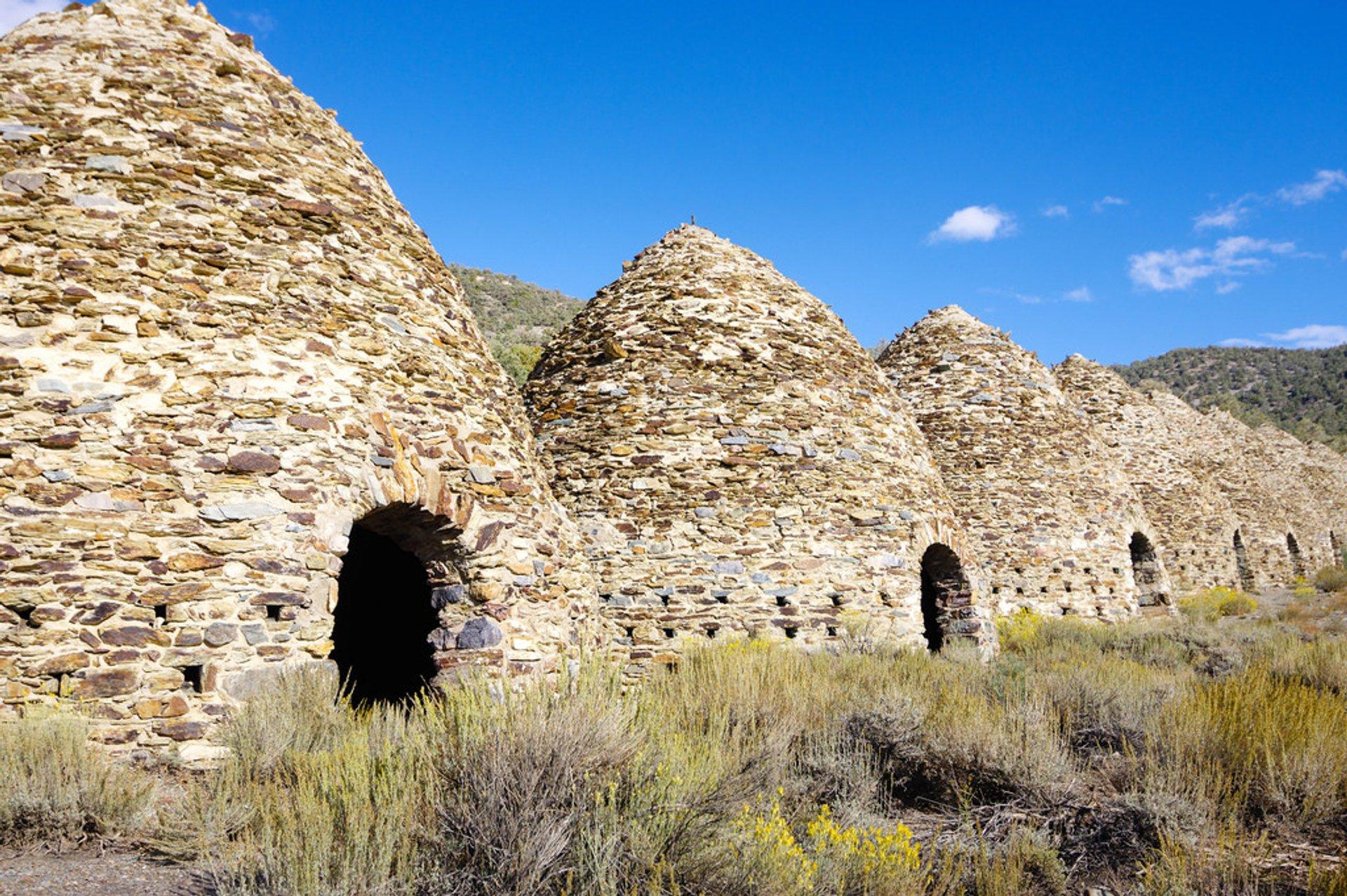 Wildrose Charcoal Kilns in Death Valley - Best Season 2019