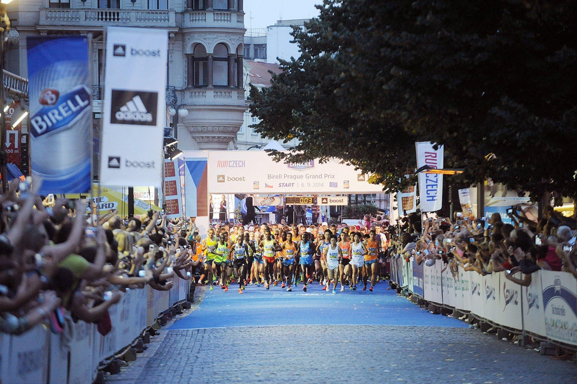 Best time for Birell Prague Grand Prix in Prague 2019