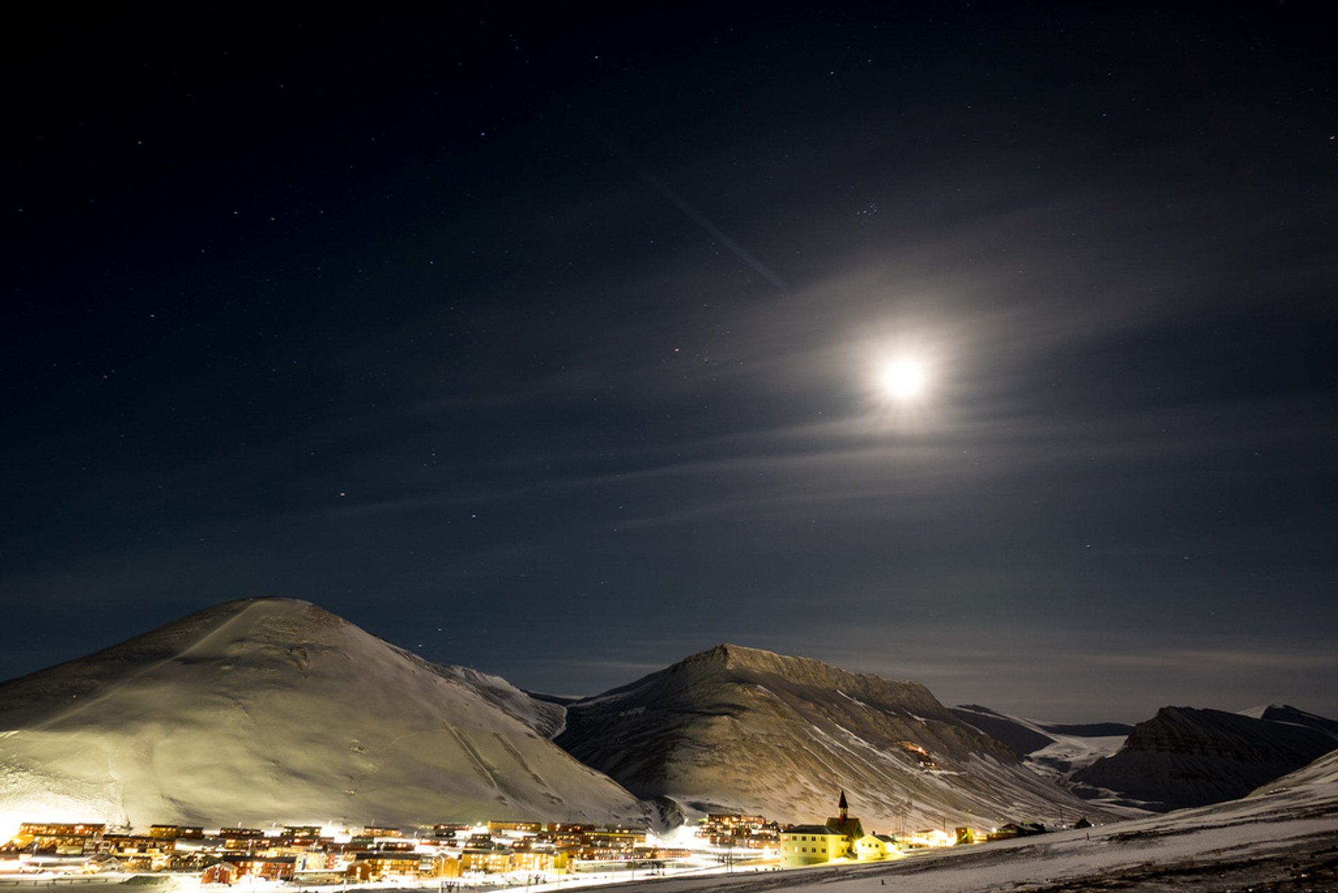 Best time for Polar Night in Svalbard 2020