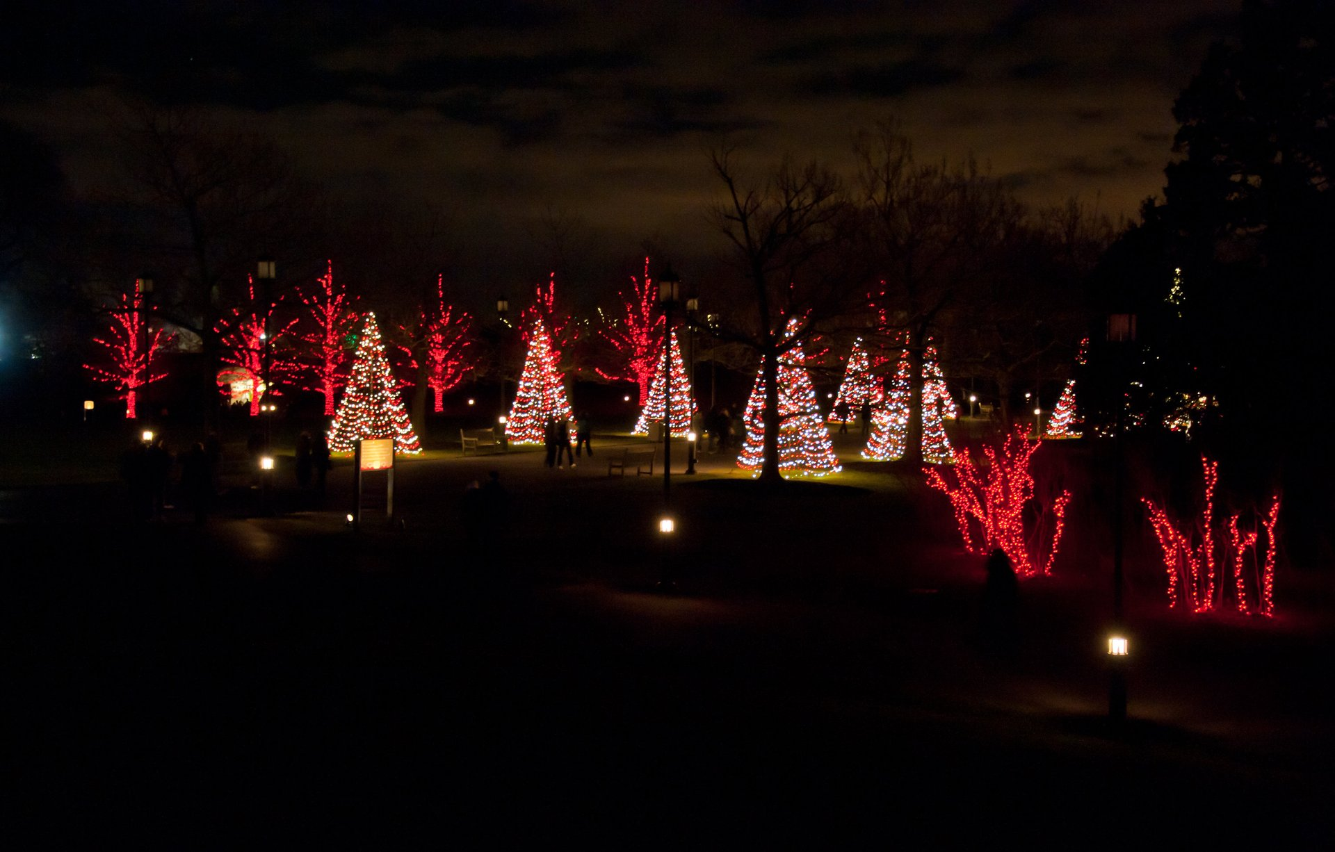 Longwood Gardens Christmas Display 2020