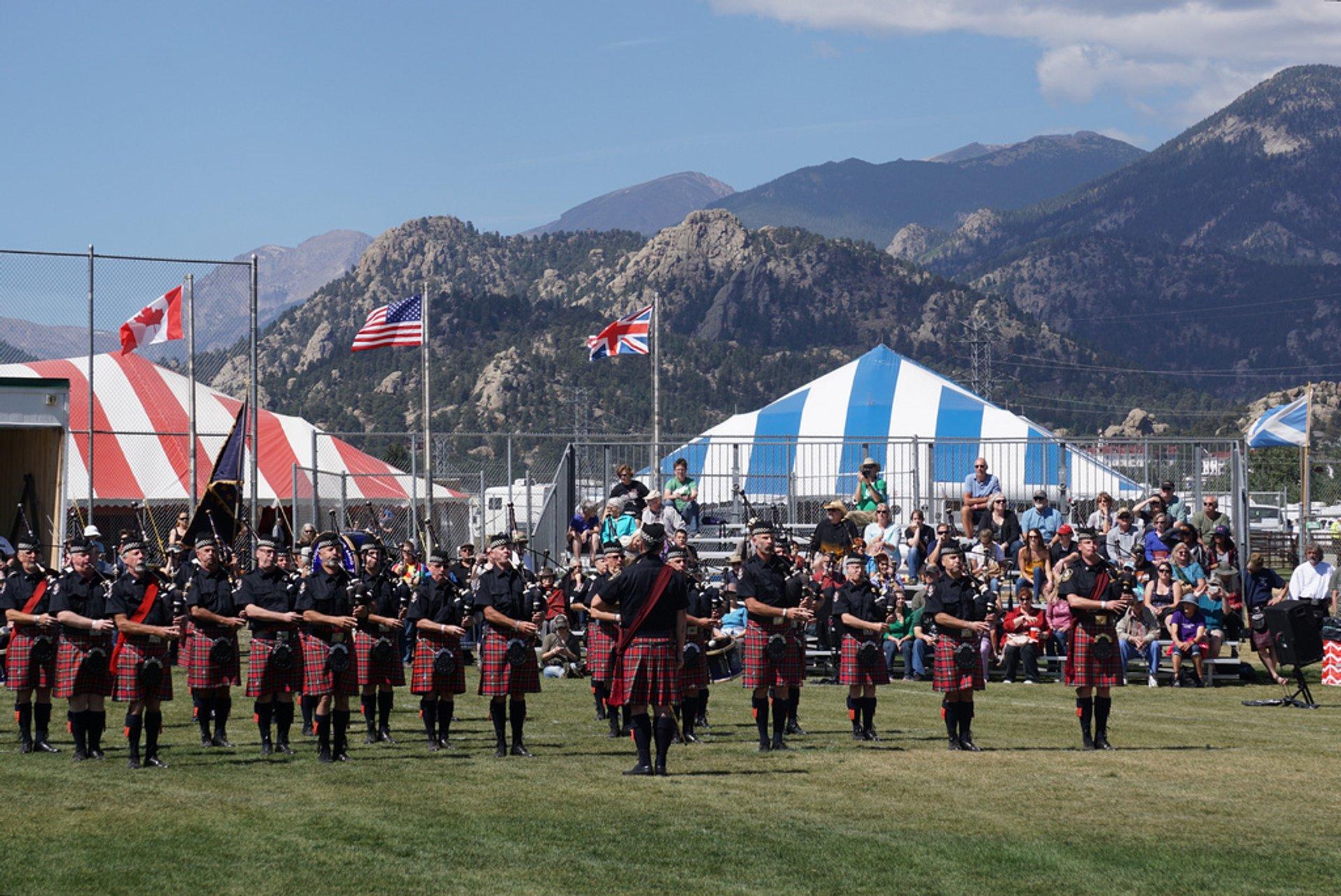 Best time for Colorado Irish Festival 2020