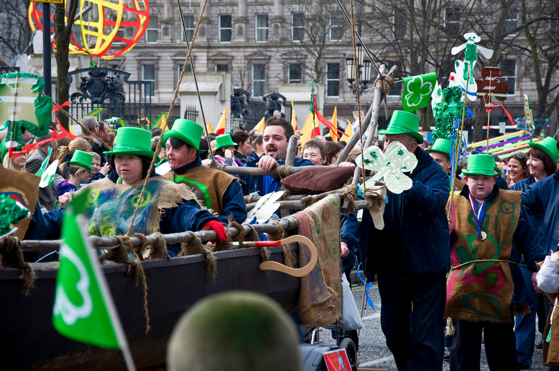 Best time for St. Patrick's Day in The United Kingdom 2020