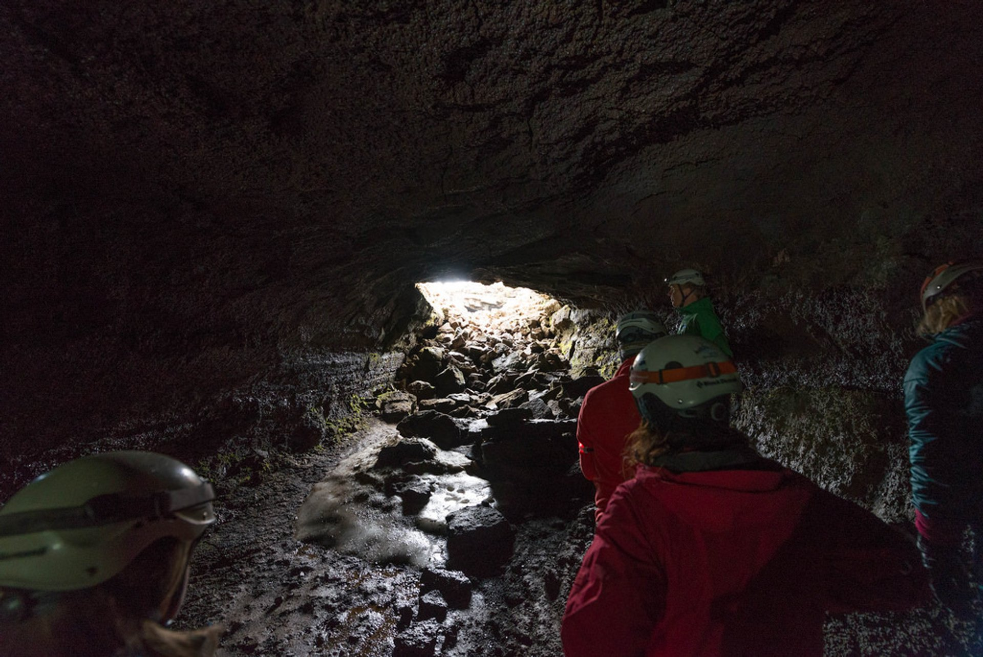 Best time to see Caving in Leiðarendi Lava Tube in Reykjavik 2019