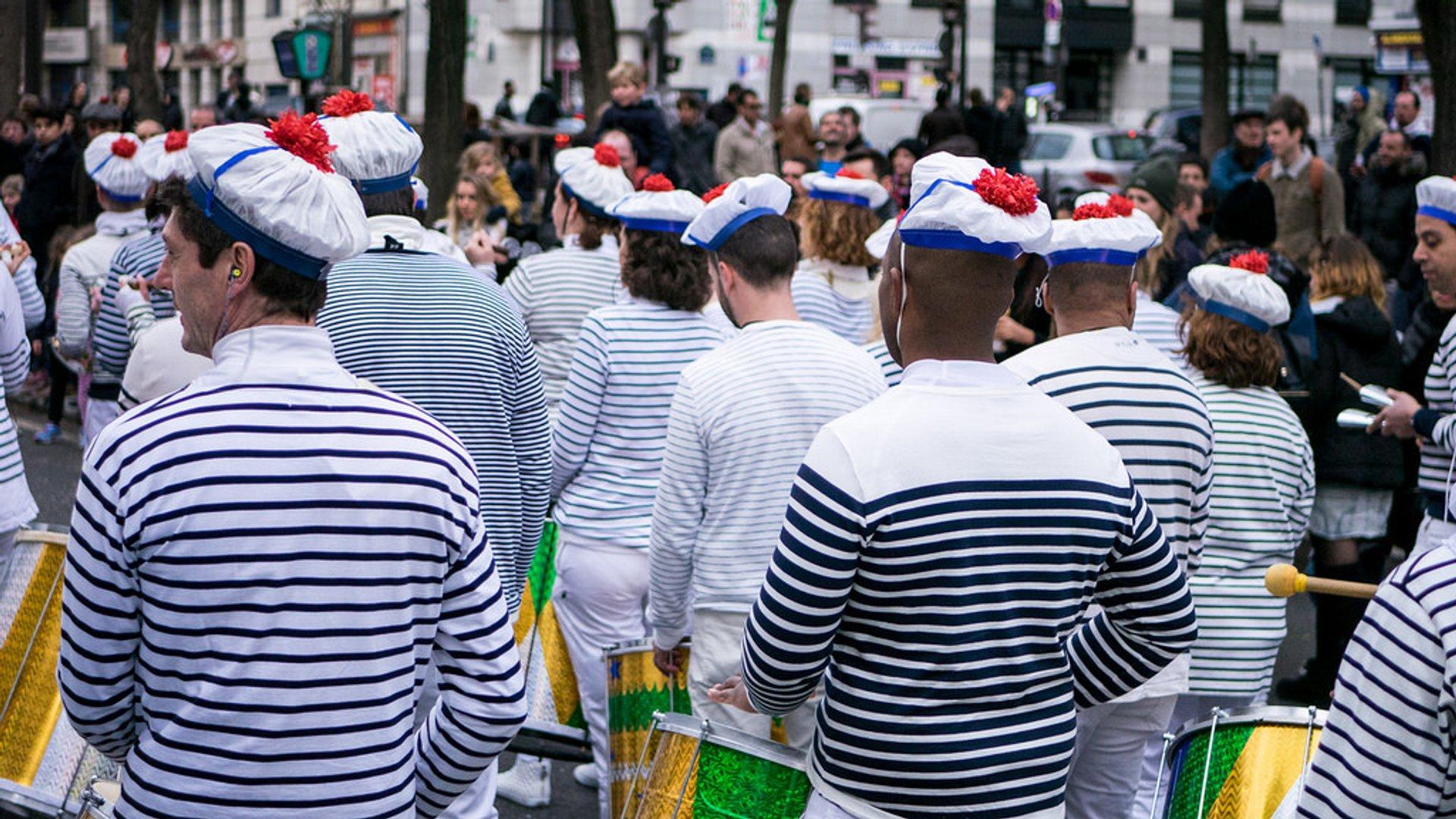 Best time for Carnaval de Paris and Carnaval des Femmes in Paris 2019