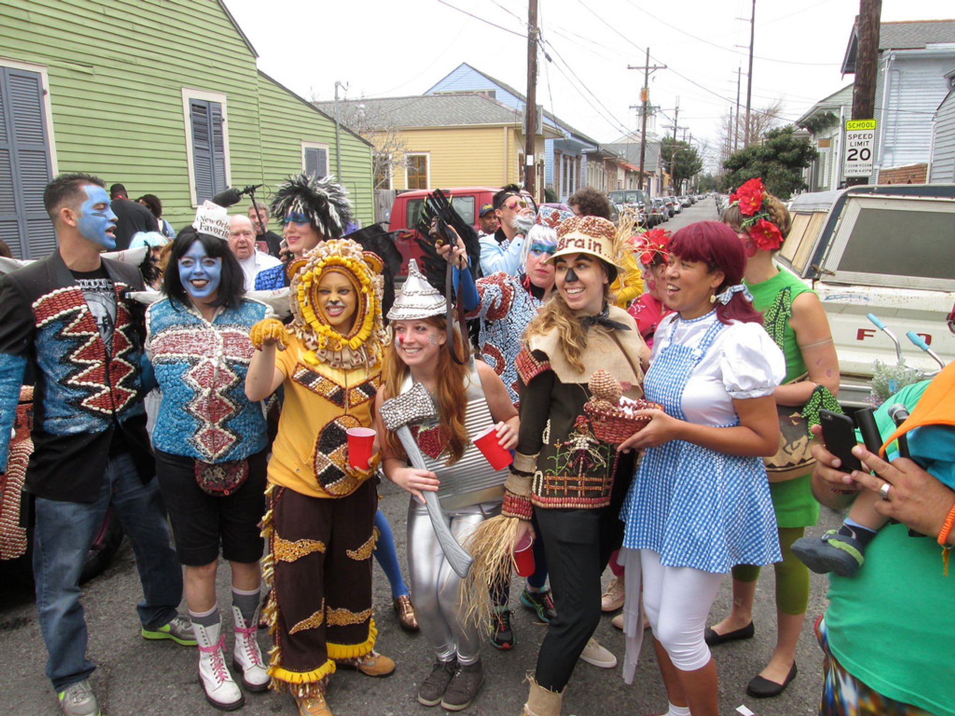 Lundi Gras in New Orleans - Best Time