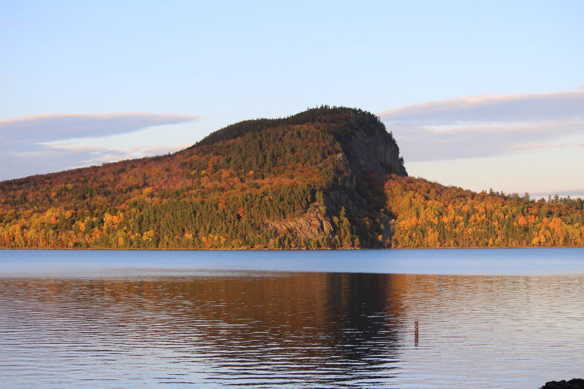 Mount Kineo at Moosehead Lake, Maine 2020