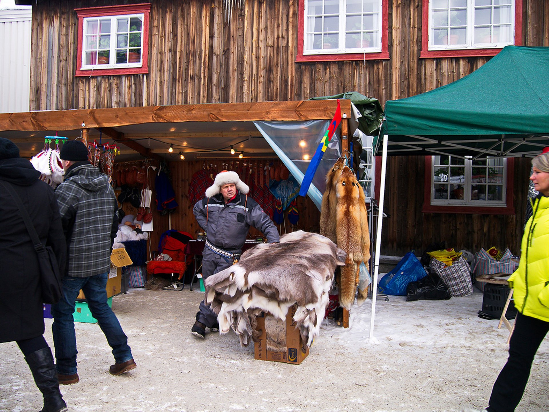 Best time to see Rørosmartnan or Røros Fair 2020