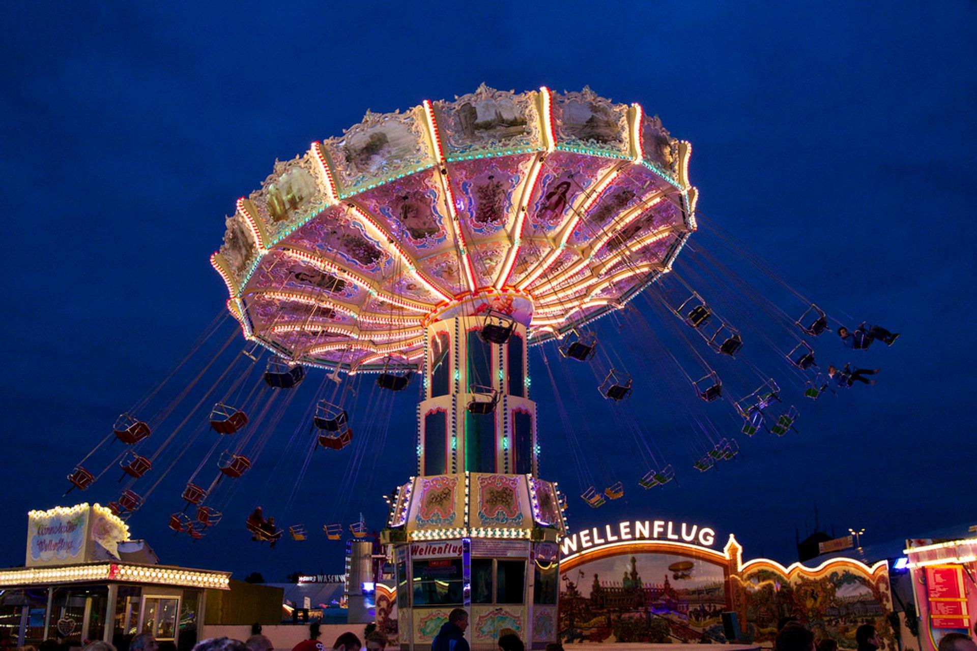 Best time for Frühlingsfest Stuttgart (Stuttgart Spring Festival) in Germany 2020