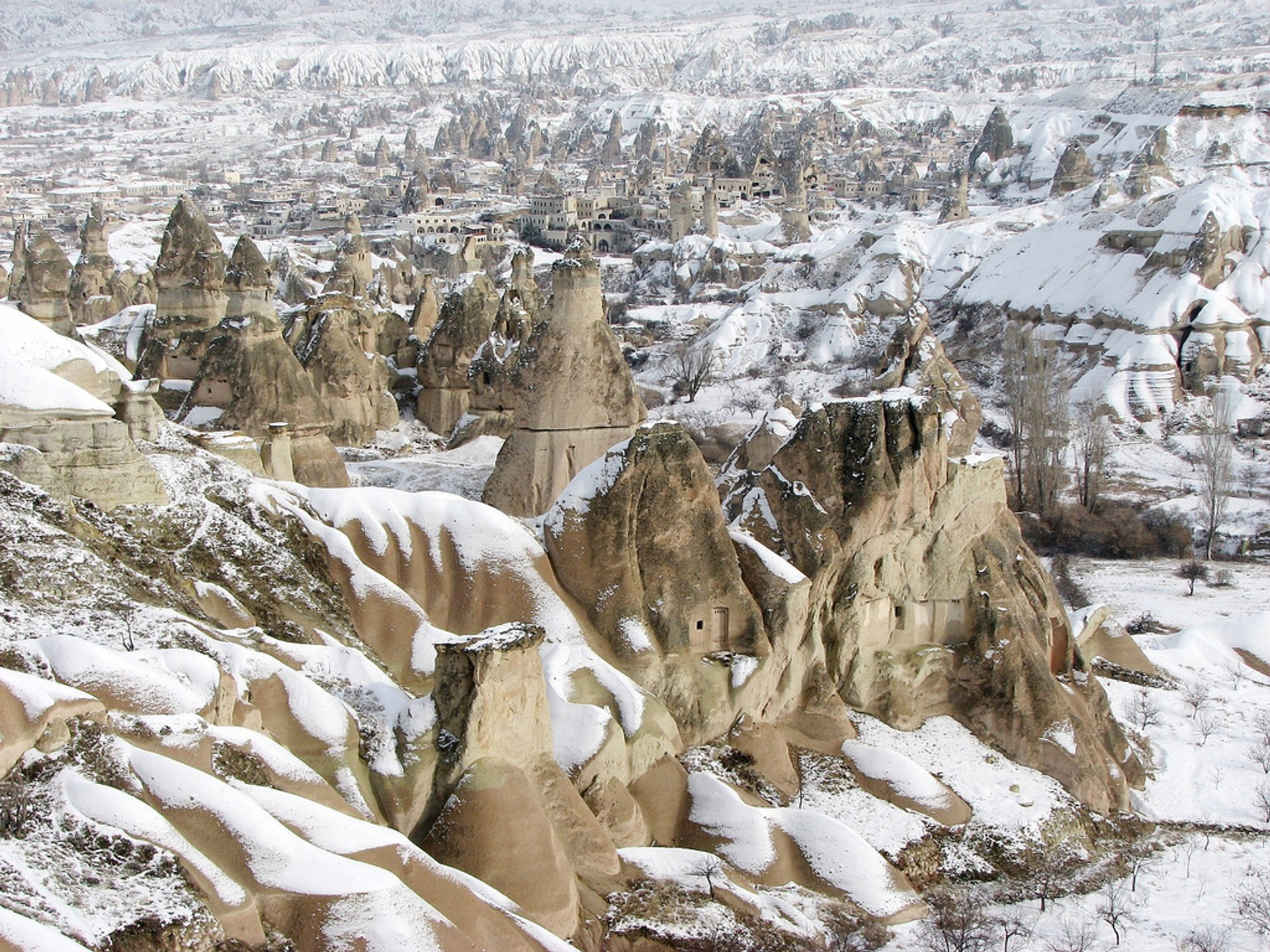Winter Hiking Adventure in Cappadocia - Best Season 2019
