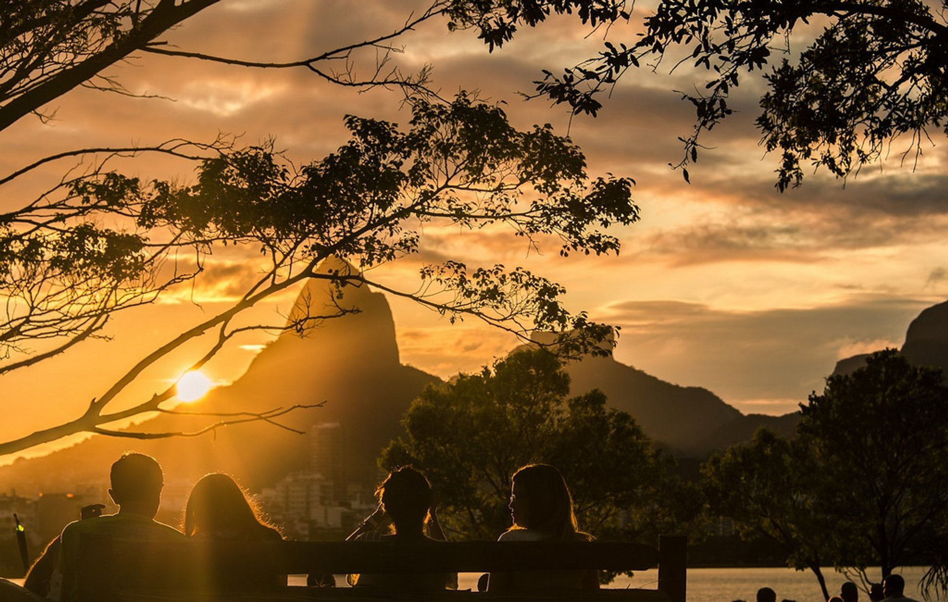 Watching the Sunset in Rio de Janeiro - Best Season