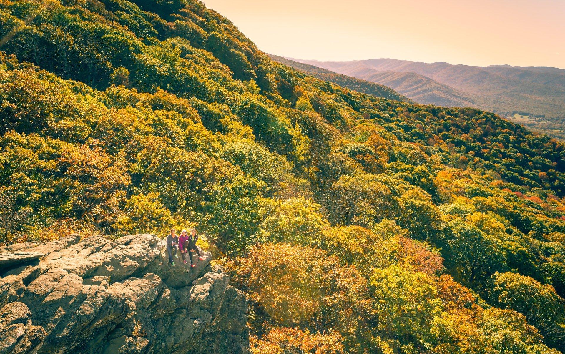 Humpback Rocks, Blue Ridge Parkway 2020