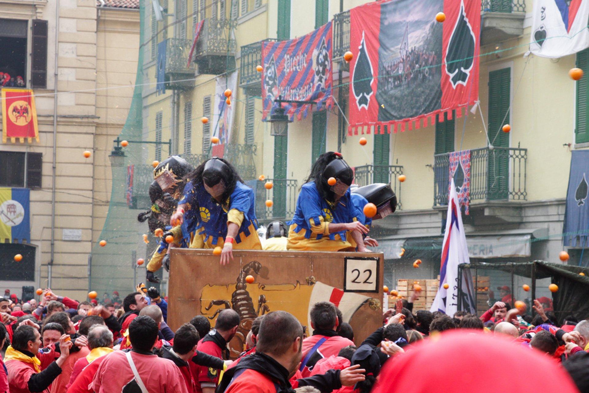 Carnevale di Ivrea 2020