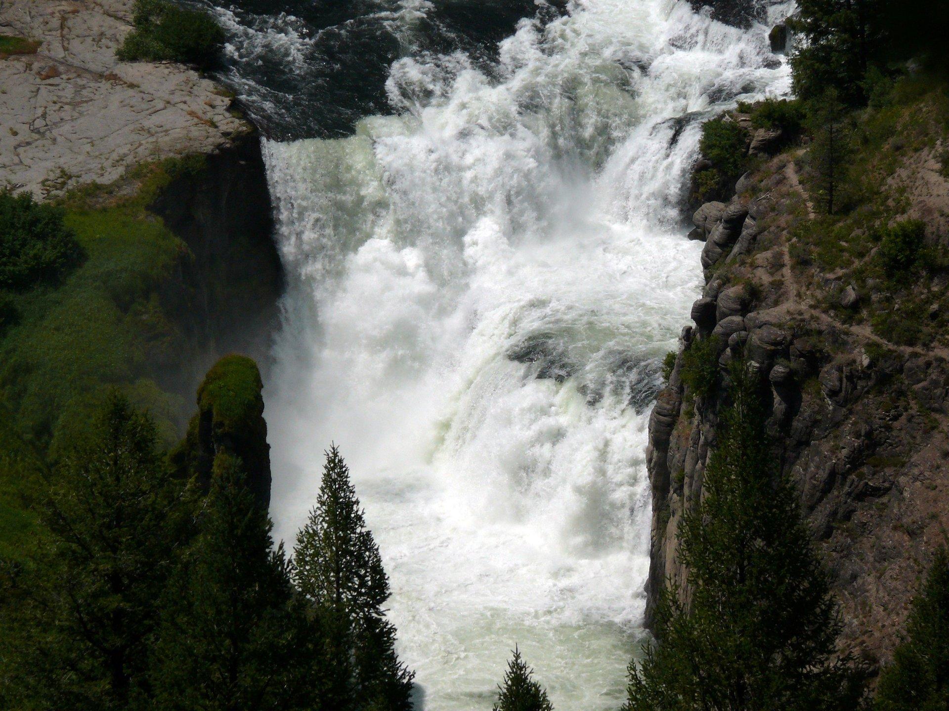 Lower Mesa Falls 2020
