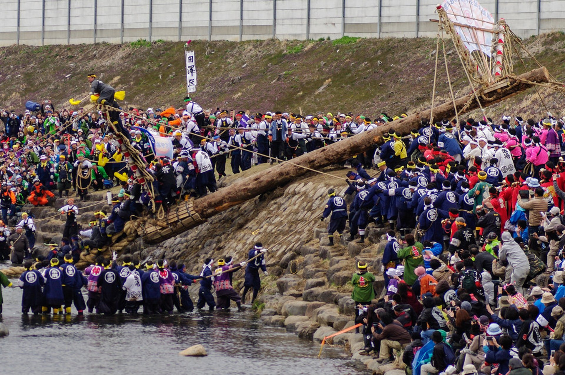 Onbashira Festival in Japan 2019 - Best Time
