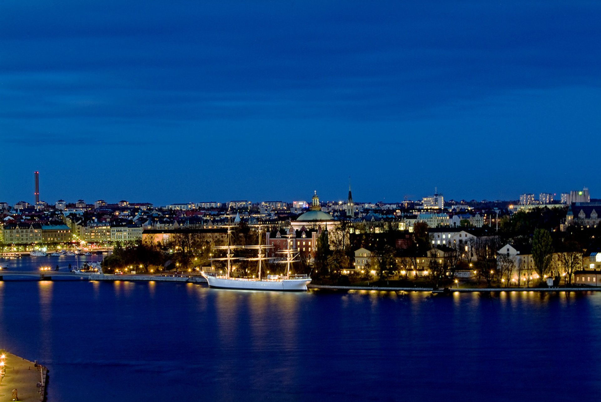Best time for Blue Hours in Sweden 2019