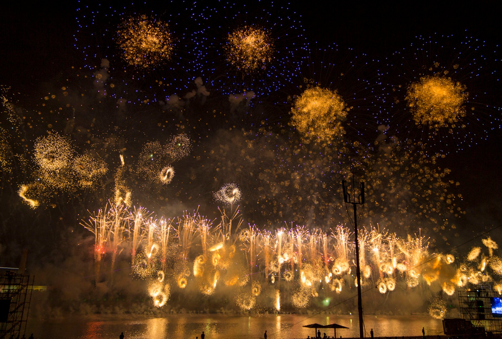 Best time to see Pohang International Fireworks Festival in South Korea 2020