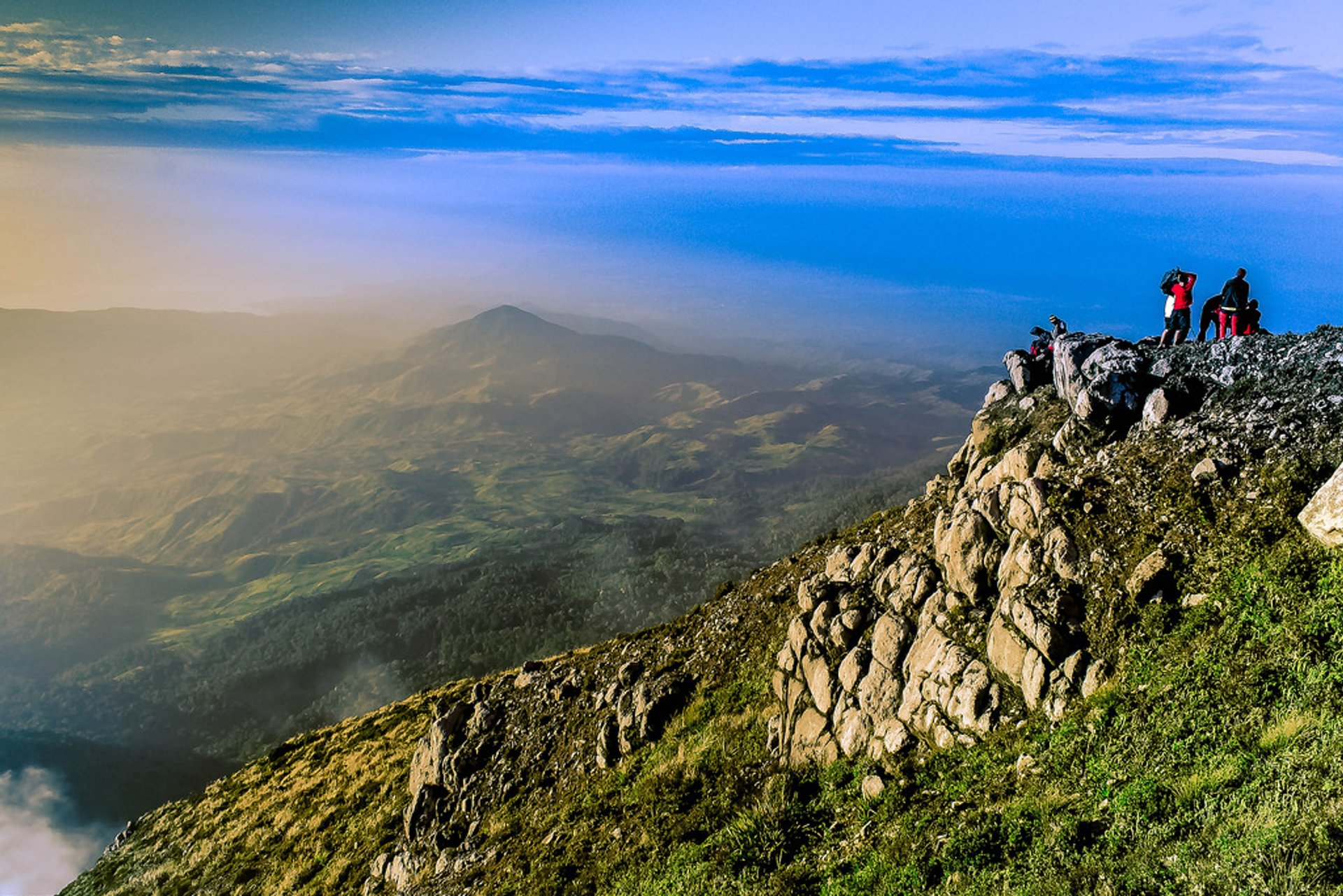 Best time to see Climbing Mount Apo in Philippines