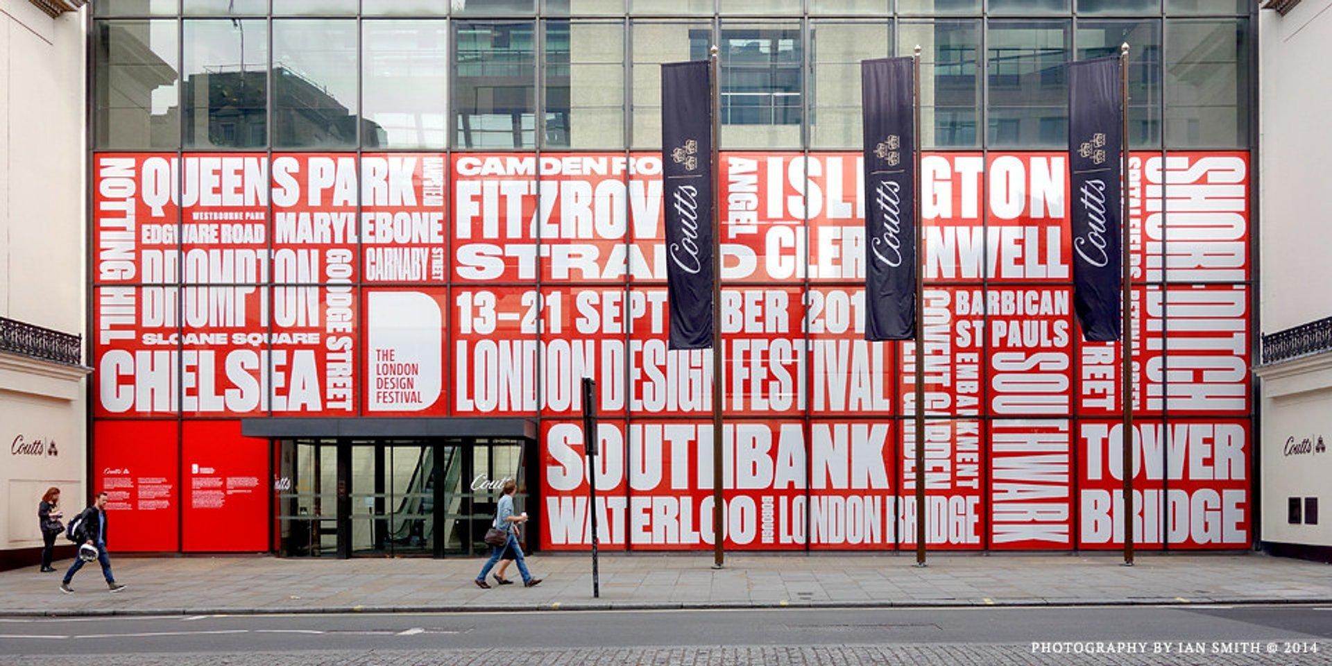 The London Design Festival in London 2020 - Best Time