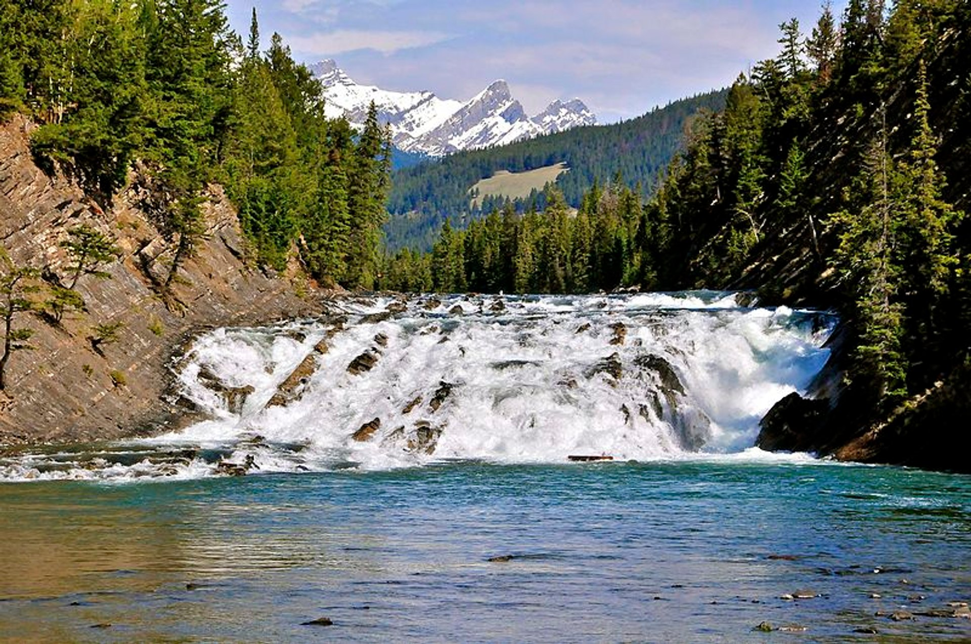Bow Falls in Banff & Jasper National Parks 2020 - Best Time