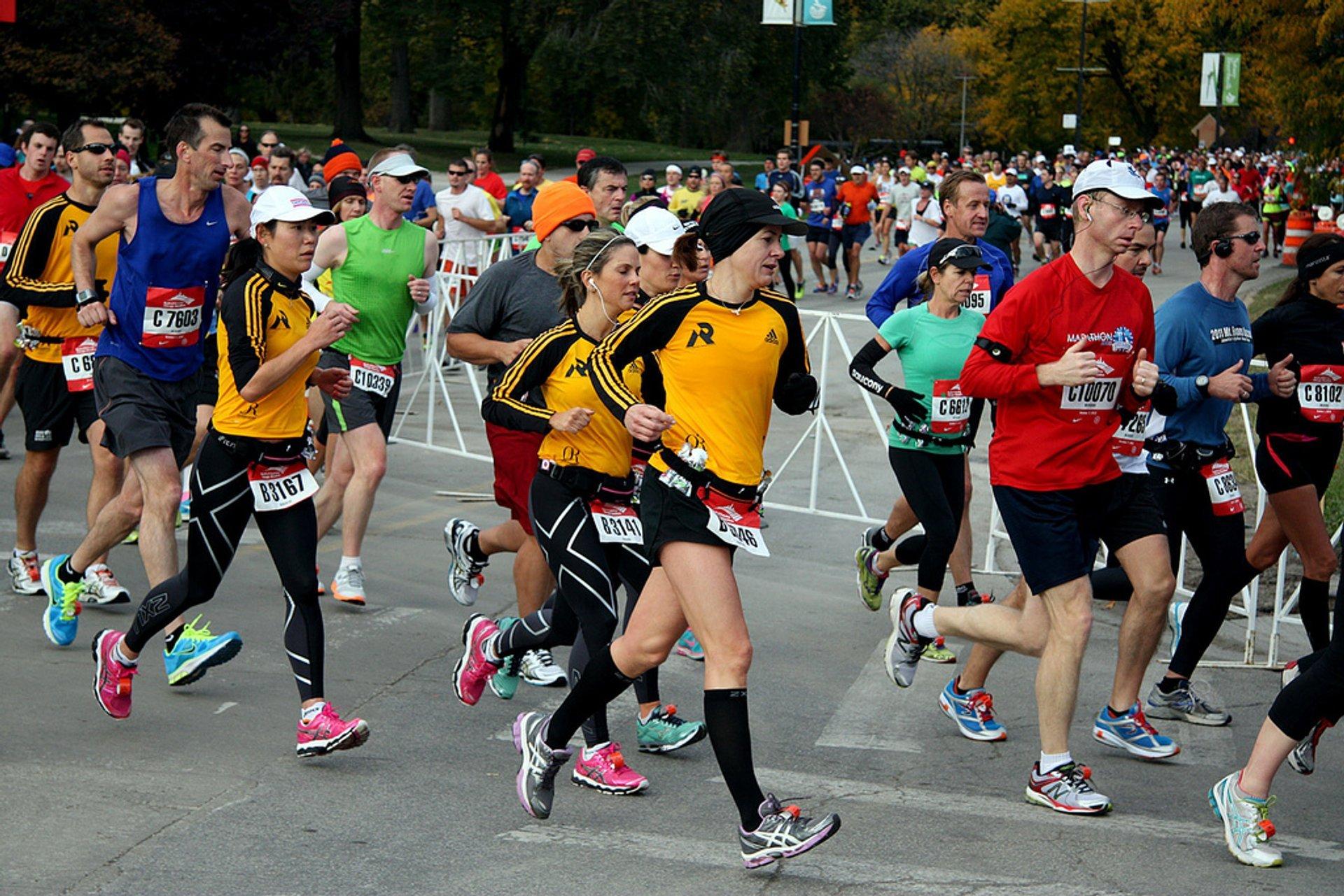 Best time for Chicago Marathon in Chicago 2020